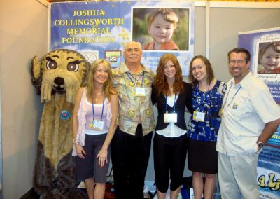District 6930 sponsored our Josh the Otter project booth at the Rotary International Conference in New Orleans!