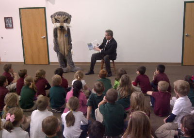 North Platte Noon Rotary Josh the Otter Readings! (Nebraska)