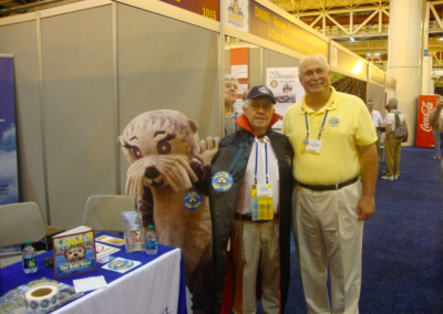 Even Vampires love Josh the Otter! (RI Convention in New Orleans)