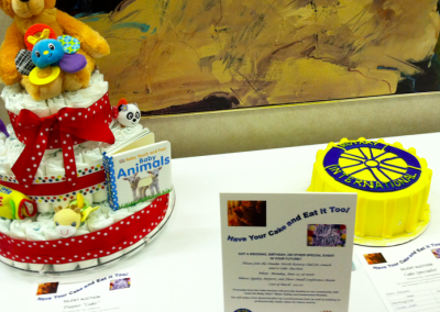 Omaha North Rotary Cake Auction Fundraiser for Josh the Otter Project!