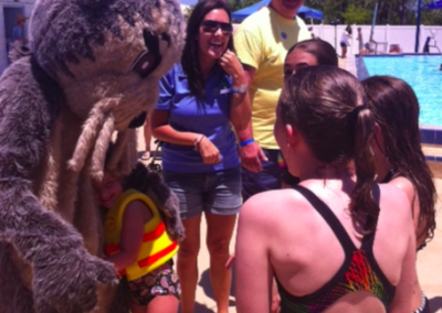 Florida Rotarians helping out on Josh the Otter Spotter Day!